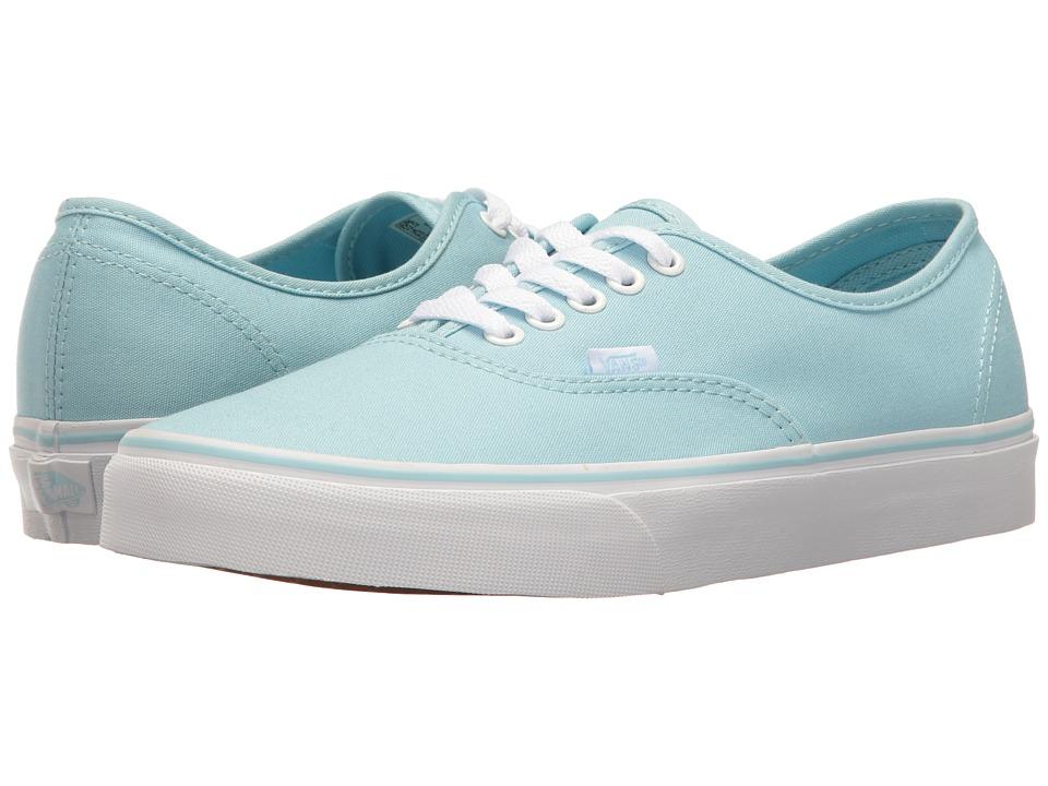 Vans Authentictm (Crystal Blue/True White) Skate Shoes