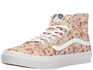 SK8-Hi Slim ((Vansmoji) Pale Khaki/True White) Skate Shoes