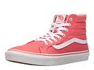 SK8-Hi Slim (Deep Sea Coral/True White) Skate Shoes