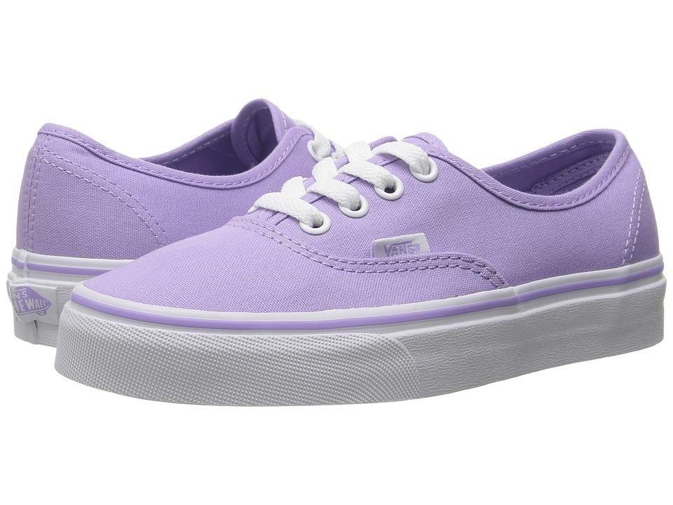 Vans - Authentic (Lavender/True White) Skate Shoes