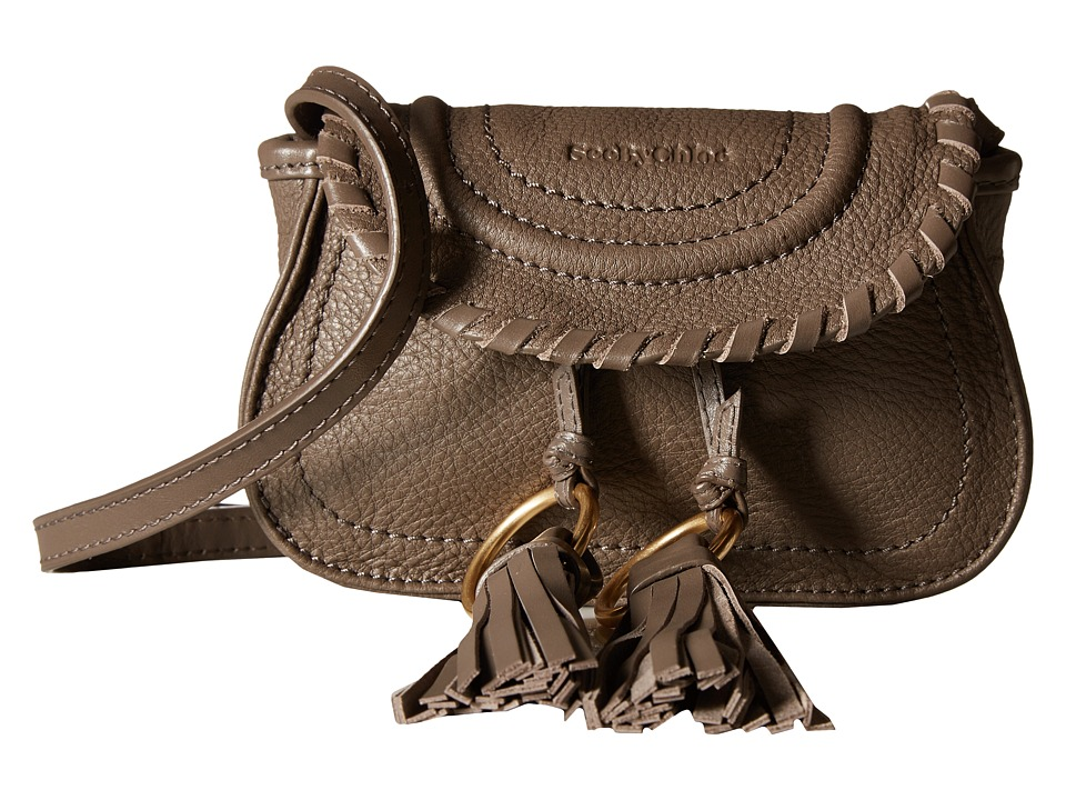 See by Chloe - Polly Belt Bag w/ Mini Crossbody (Taupe) Cross Body Handbags