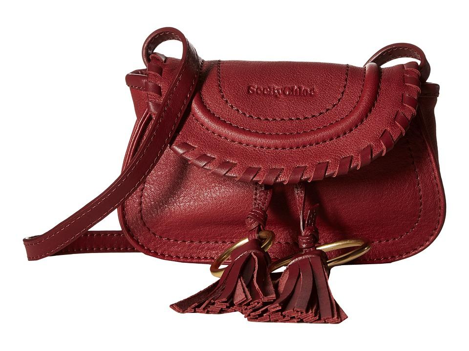 See by Chloe - Polly Belt Bag w/ Mini Crossbody (Grape) Cross Body Handbags