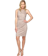 Calvin Klein - Side Ruched Lace Sheath Dress CD6L1Q6Q