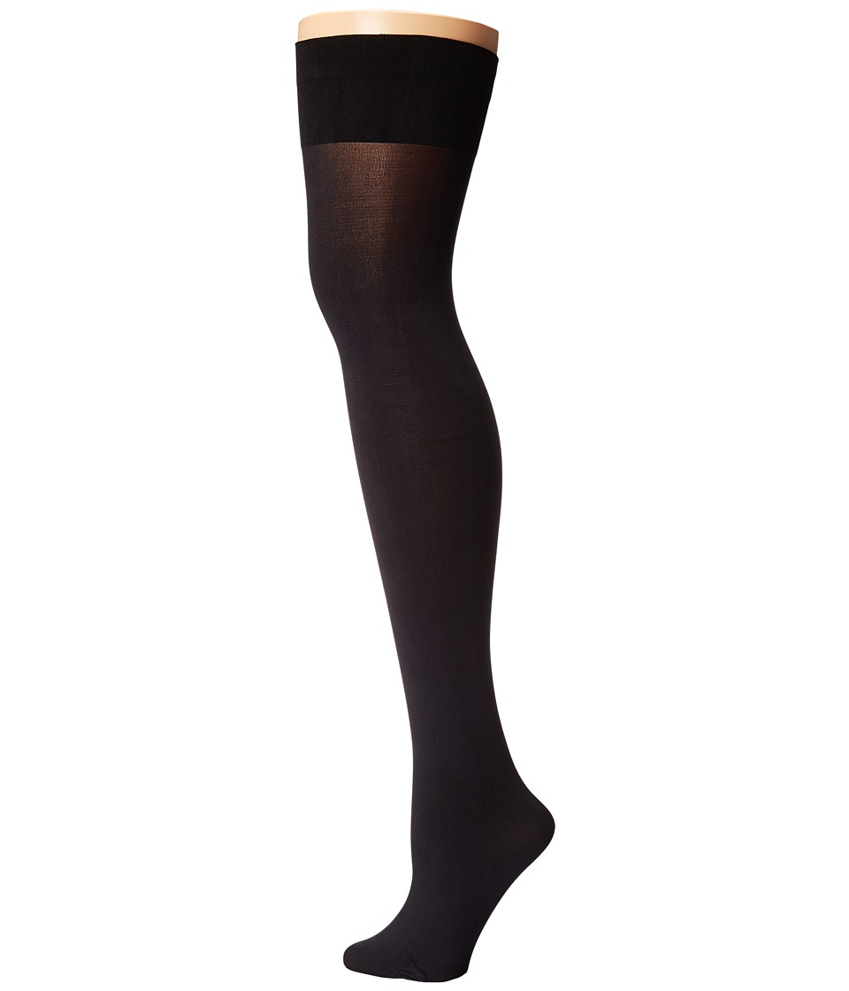 Pretty Polly - Opaque Hold Ups (Black) Hose