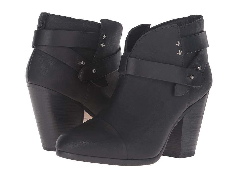 rag & bone Harrow Boot (Cont Black) Women
