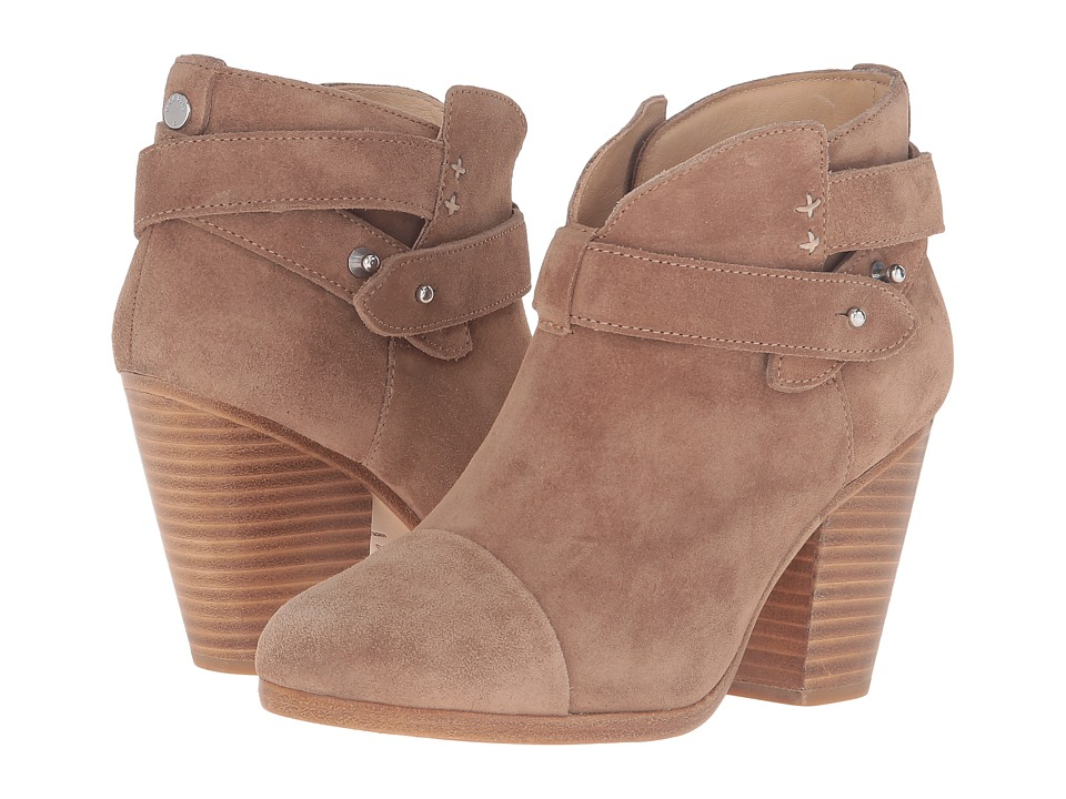 rag & bone Harrow Boot (Camel Suede) Women