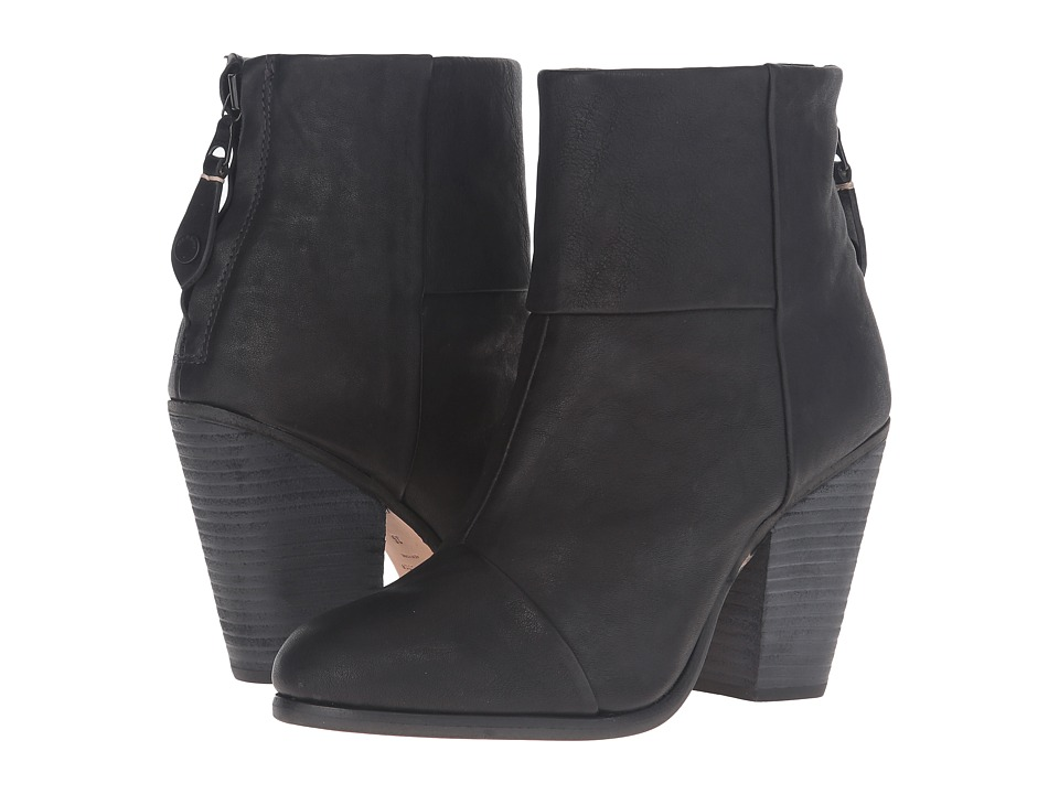 rag & bone - Classic Newbury (Cont Black) Women's Shoes