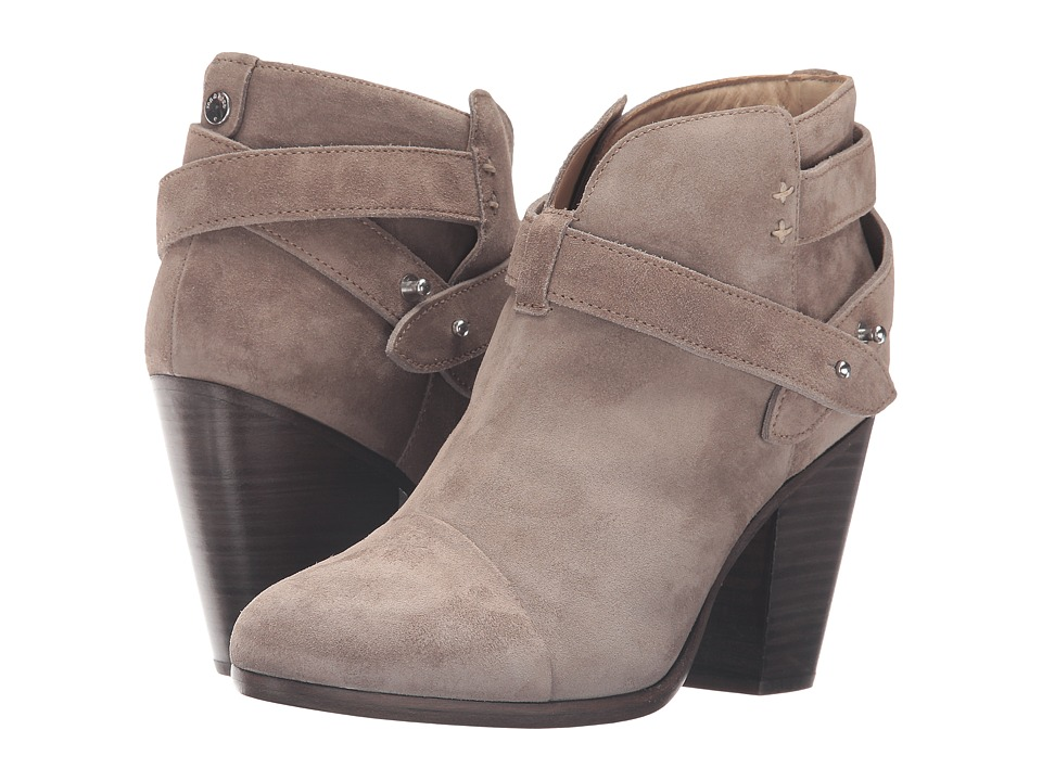 rag & bone Harrow Boot (Warm Grey Suede) Women