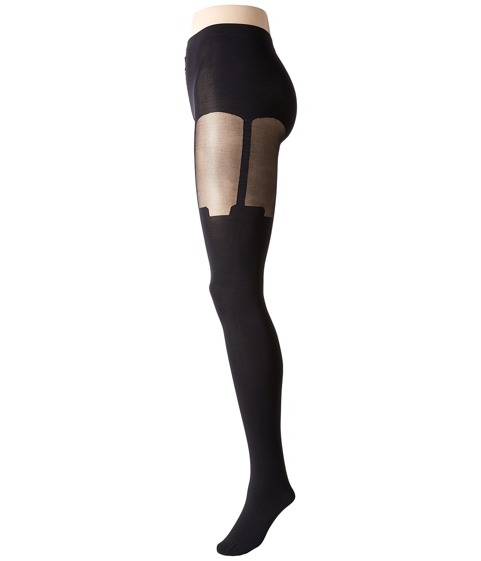 Pretty Polly - House Of Holland Super Suspender Tights (Black) Hose
