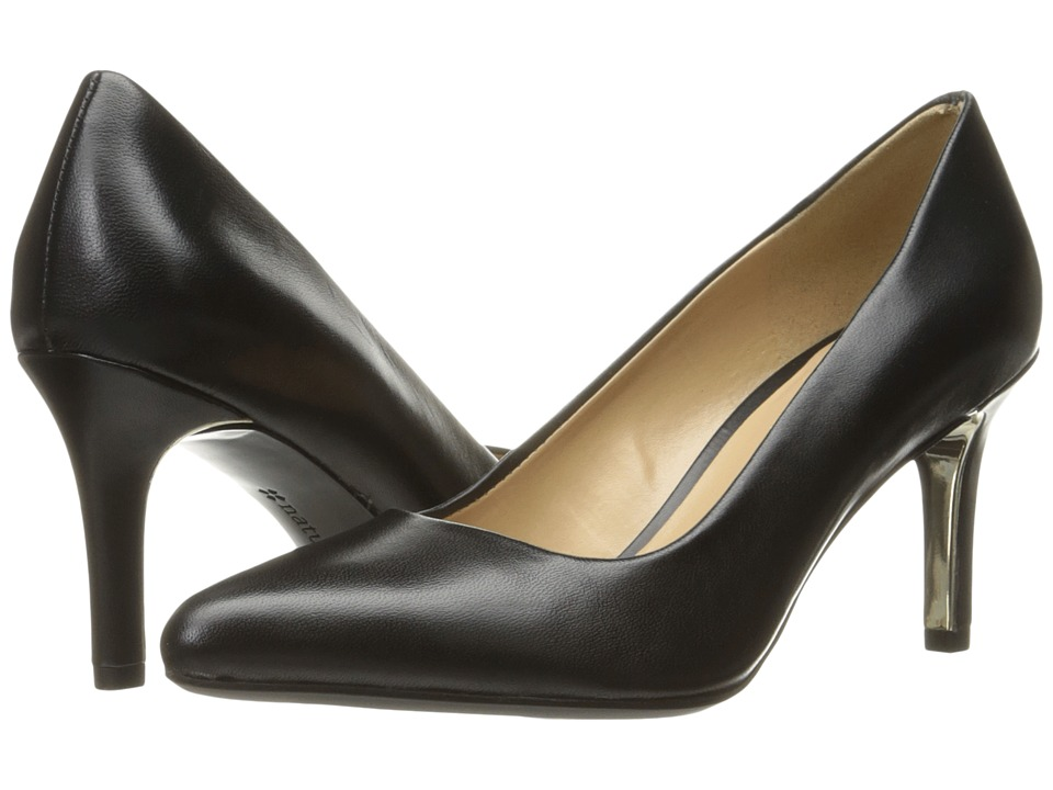 Naturalizer Natalie (Black Leather) High Heels