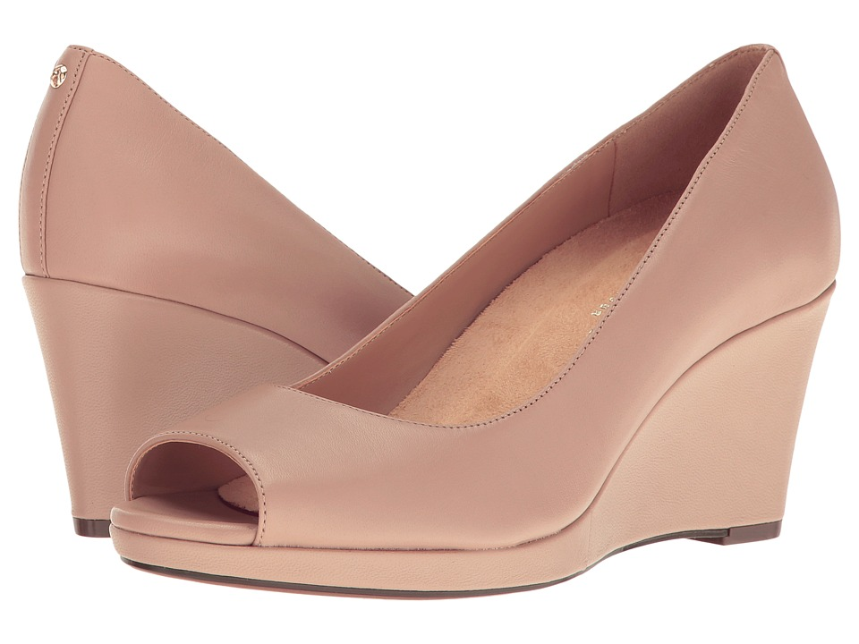Naturalizer Olivia (Tender Taupe Leather) Wedges