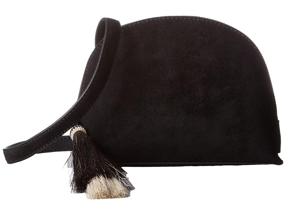 Loeffler Randall - Crossbody Pouch (Black/Natural) Cross Body Handbags