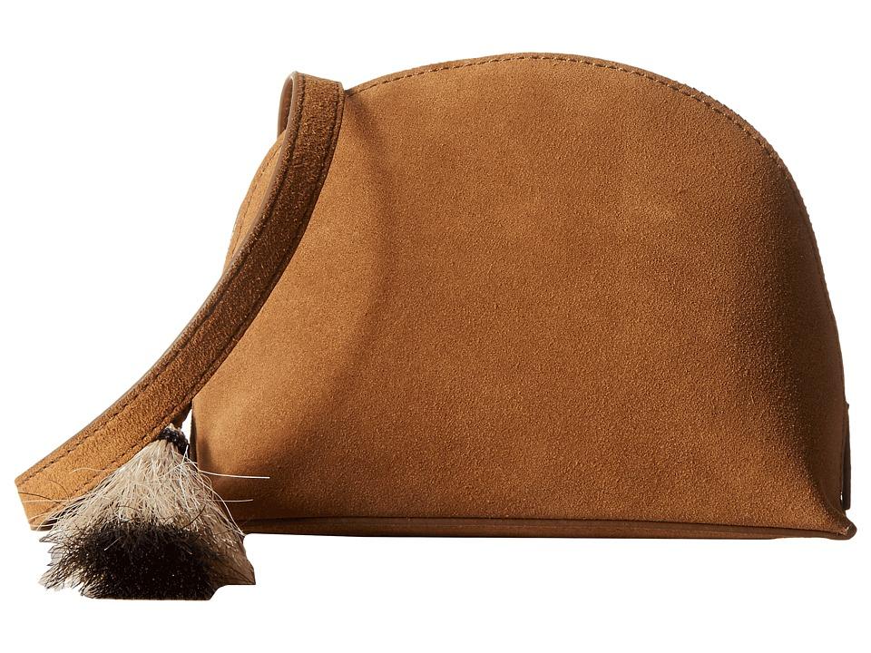 Loeffler Randall - Crossbody Pouch (Sienna/Natural Black) Cross Body Handbags