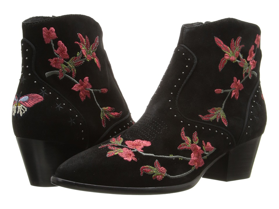 Vintage Style Boots ASH - Heidi Black Baby Softy Womens Shoes $240.00 AT vintagedancer.com