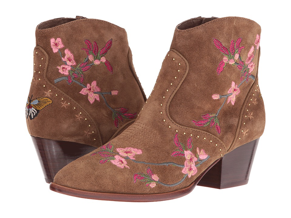 Vintage Style Boots ASH - Heidi Russet Baby Softy Womens Shoes $240.00 AT vintagedancer.com