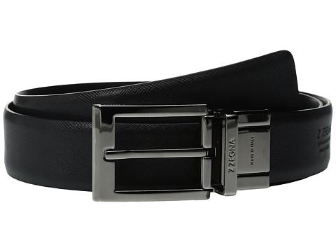 Z Zegna Adjustable/Reversible BPOPG1 H32mm Belt