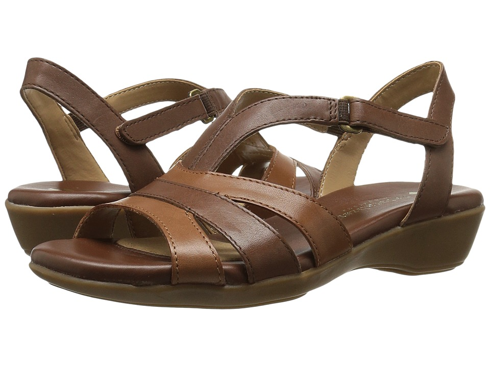 Naturalizer Neina (Brown Multi Leather) Women's Sandals