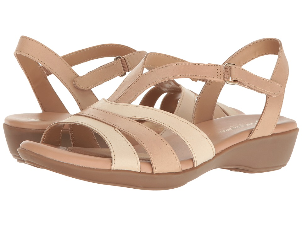 Naturalizer Neina (Ginger Snap Leather) Women's Sandals