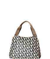 Orla Kiely - Matt Laminated Baby Bunny Print Classic Zip Shoulder Bag