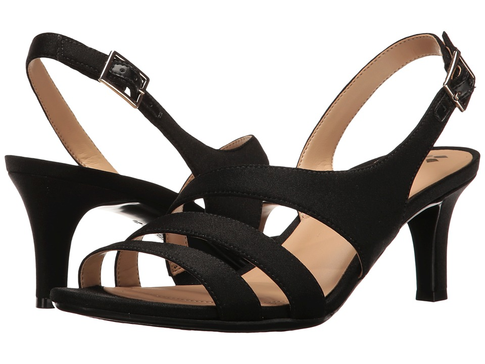Naturalizer Taimi Strappy Sandals  Black 9 W, Black -  ADULT