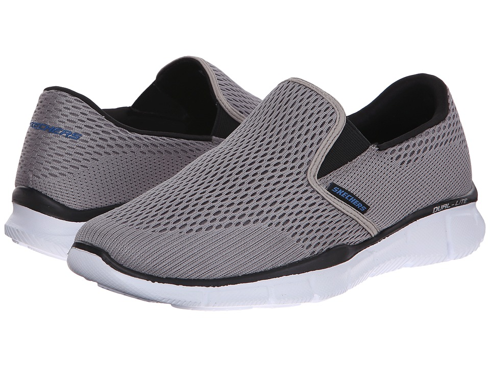 SKECHERS Equalizer Double Play (Gray) Men