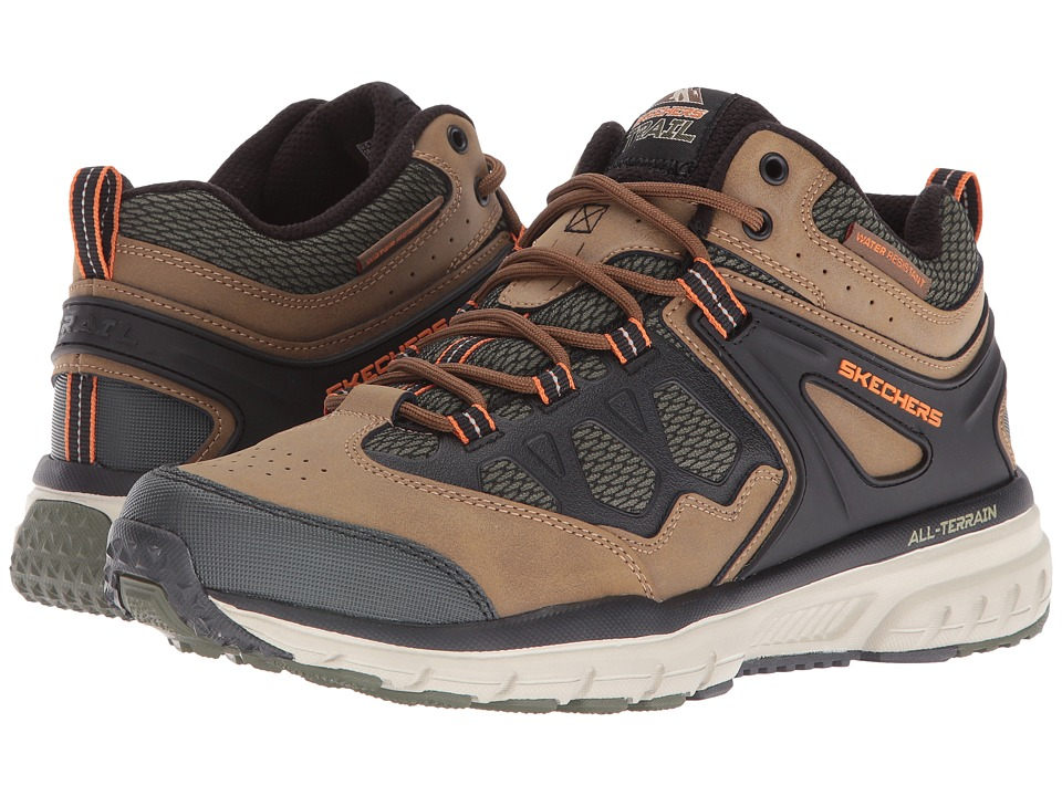 SKECHERS Geo Trek Sequencer (Brown/Olive) Men
