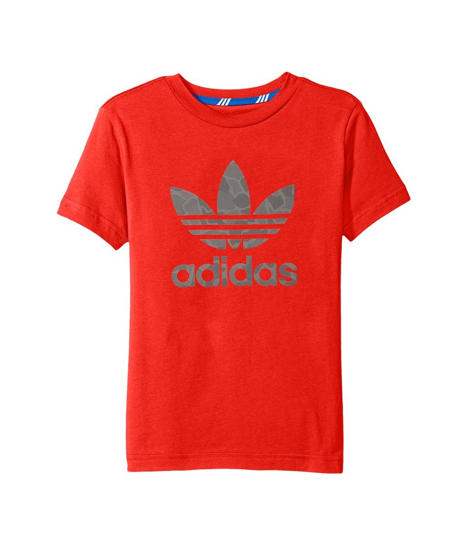 adidas Originals Kids Future Camo (Little Kids/Big Kids) (Red) Boy