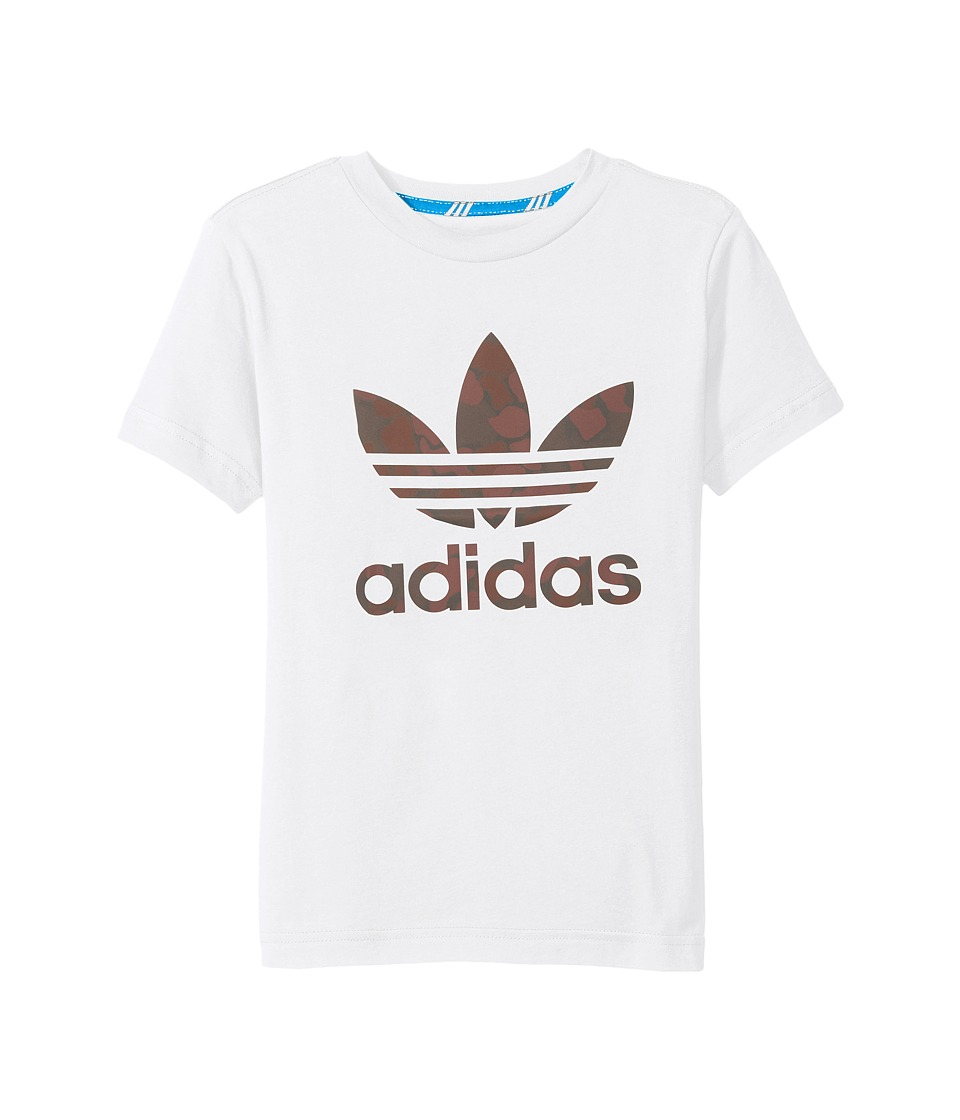 adidas Originals Kids Future Camo (Little Kids/Big Kids) (White) Boy