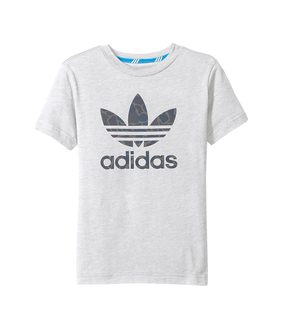 adidas Originals Kids Future Camo (Little Kids/Big Kids) (Light Grey Heather) Boy