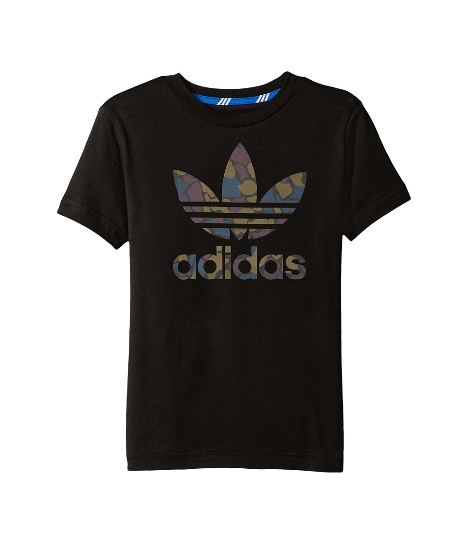 adidas Originals Kids Future Camo (Little Kids/Big Kids) (Black) Boy
