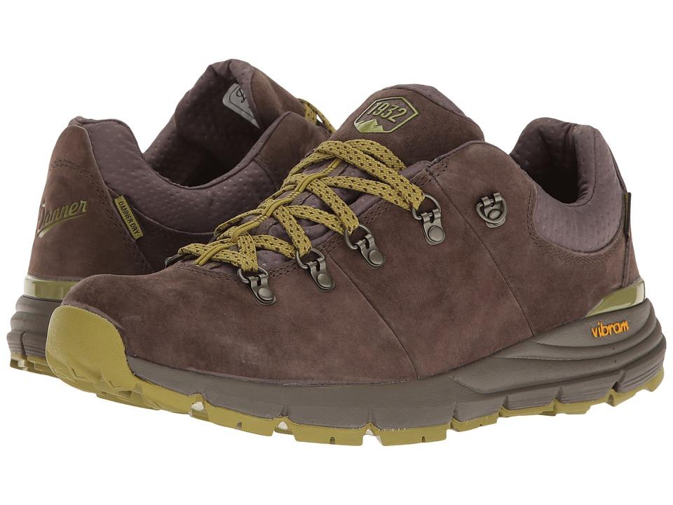 Danner - Mountain 600 Low 3 (Dark Brown/Lichen) Mens Shoes