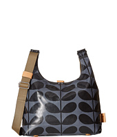 Orla Kiely - Shiny Laminated Solid Stem Print Midi Sling Bag
