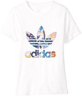 adidas Originals Kids - Trefoil Classic Tee (Toddler/Little Kids/Big Kids)
