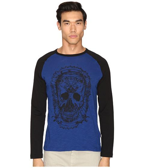 Just Cavalli Skull Baseball T-Shirt