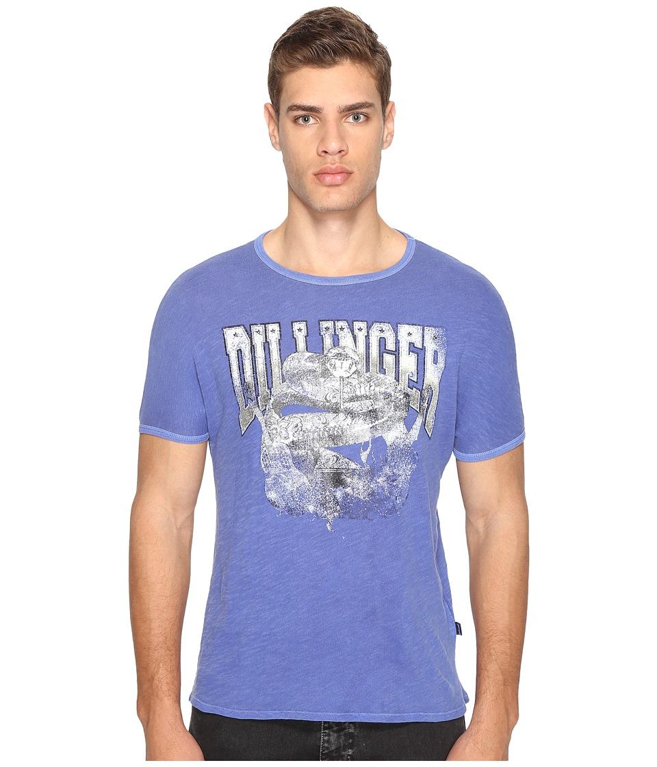 Just Cavalli Snake T-Shirt (True Blue) Men
