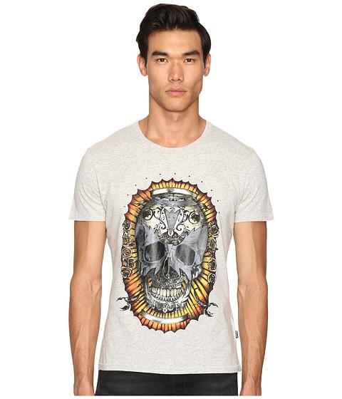 Just Cavalli Wreath Skull T-Shirt