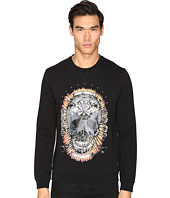 Just Cavalli - Wreath Skull Sweatshirt