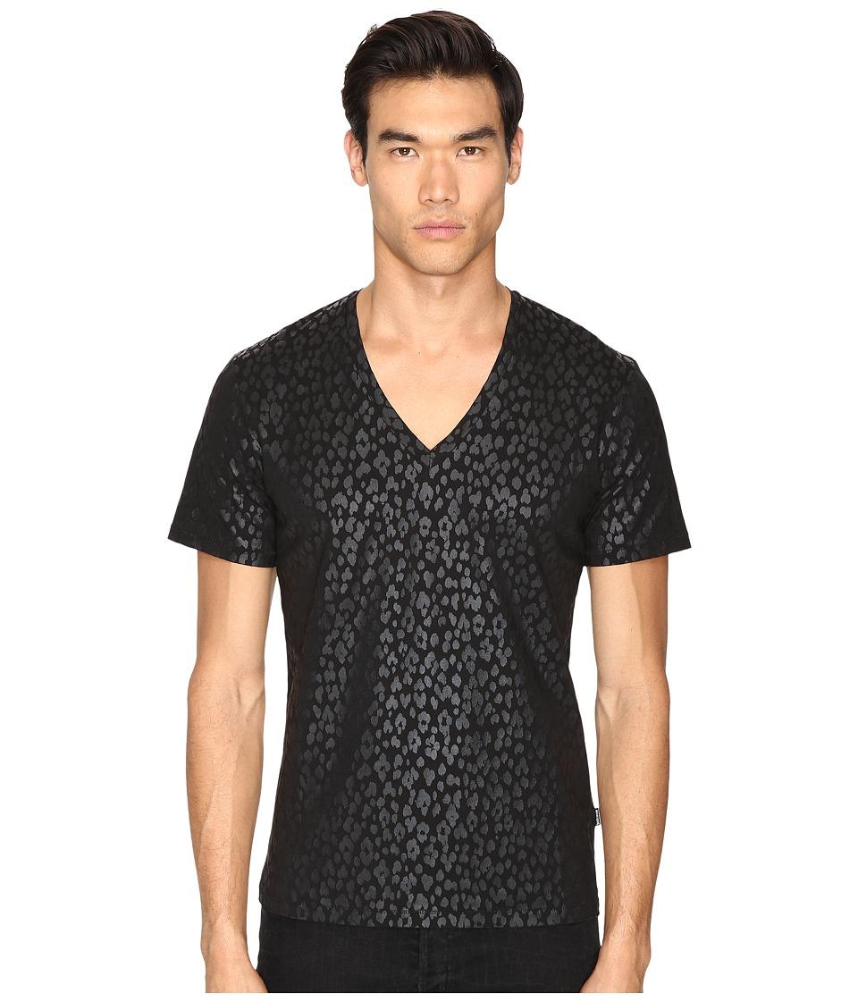 Just Cavalli Leopard T-Shirt (Black) Men