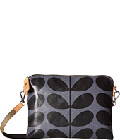 Orla Kiely - Shiny Laminated Solid Stem Print Travel Pouch