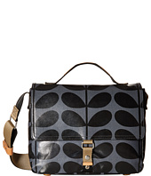 Orla Kiely - Shiny Laminated Solid Stem Print Satchel