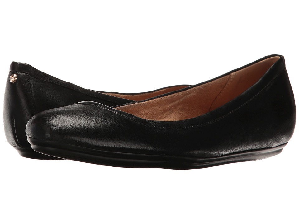 Naturalizer Brittany (Black Leather) Flats