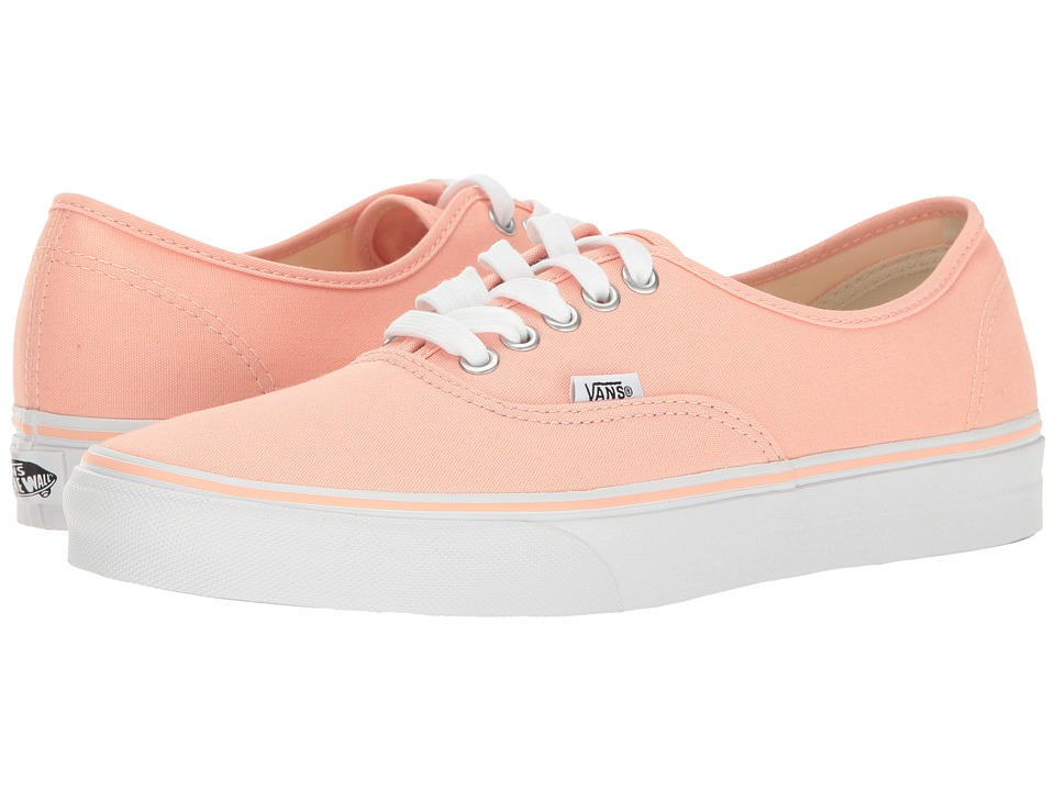 Vans Authentictm (Tropical Peach/True White) Skate Shoes