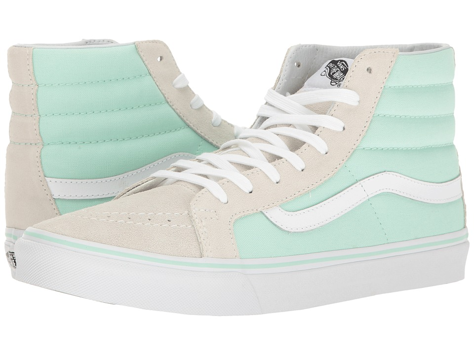 Vans SK8-Hi Slim (Bay/True White) Skate Shoes