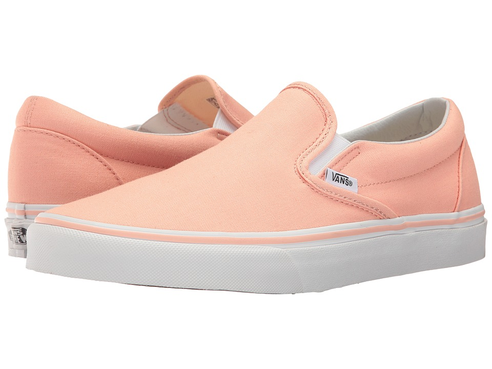 Vans Classic Slip-Ontm (Tropical Peach/True White) Skate Shoes