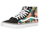 SK8-Hi Slim ((Tropical Leaves) Black) Skate Shoes