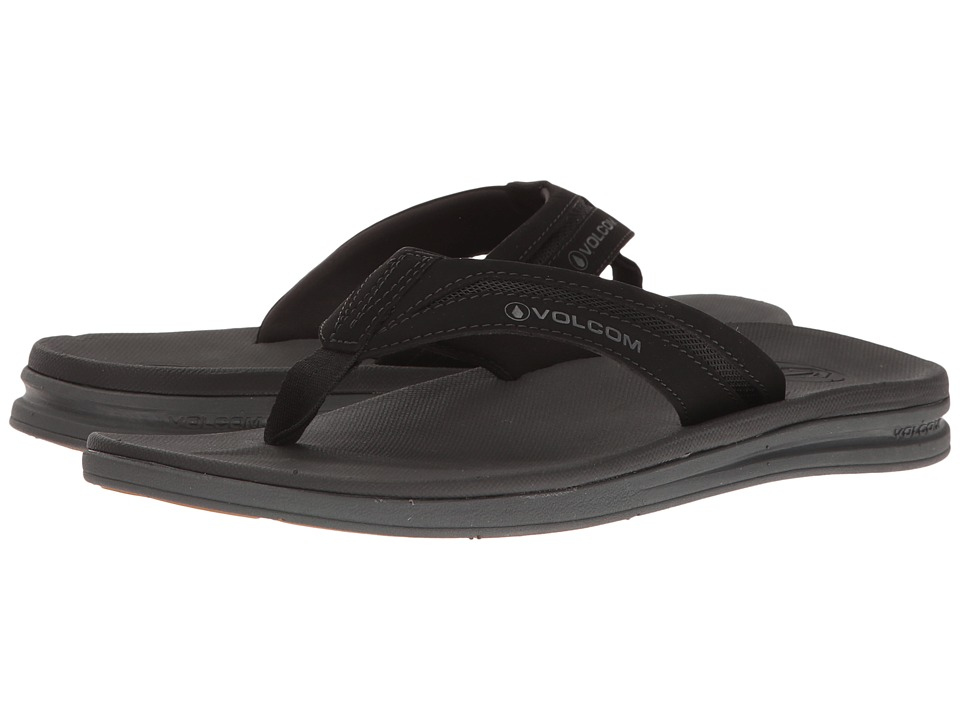 Volcom Draft Sandal (Black) Men