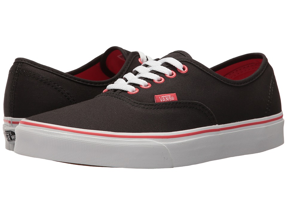 Vans Authentictm (Pirate Black/True White) Skate Shoes