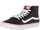 SK8-Hi Slim (Pirate Black/True White) Skate Shoes