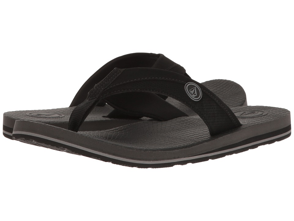 Volcom Lounger (Black) Men