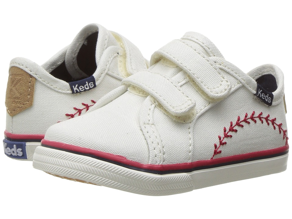 Keds Kids Double Up Crib HL (Infant/Toddler) (Pennant) Kid's Shoes